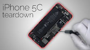 iphone 5c teardown complete step by step disassembly youtube