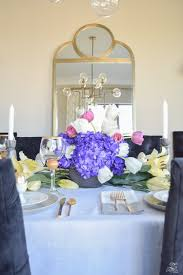 modern table linen a modern easter table scape holiday entertaining tour zdesign at