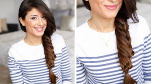 shoulder lengh hair but sides have snapped what hairstyle make it look better layered braid hair tutorial youtube
