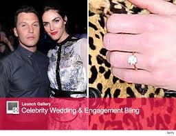 avery engagement ring hilary rhoda engaged to avery see the ring toofab