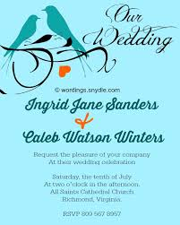 wedding invitation messages informal wedding invitation wording sles wordings and messages