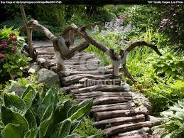Desert Landscape Ideas For Backyards by High Desert Garden Landscaping Ideas With Bridge And Pond Bridge