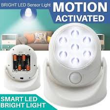 battery powered outdoor motion light led motion sensor light battery operated indoor outdoor garden wall
