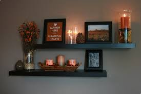 How To Decorate Floating Shelves My Happy House Fall Decorating 2011 Part 1