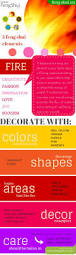 feng shui yellow kitchen remodel feng shui colours fire decor infographic