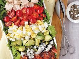 cobb salad with green goddess dressing recipe myrecipes