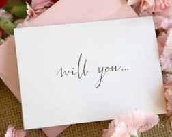 cards to ask bridesmaids will you be my bridesmaid card etsy