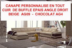 canapé d angle cuir de buffle canapé d angle tout cuir buffle épais italien 7 8 places