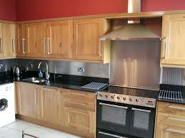kitchen range backsplash stainless steel backsplash behind stove usavideo club