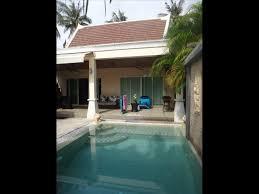 chambre avec piscine priv villa 1 chambre avec piscine privee a nai harn iris properties in
