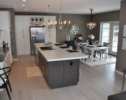 grey kitchen decor ideas brookfield kitchen dining room combo layout kitchen
