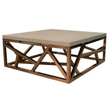 geometric copper coffee table isabelina