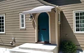 diy exterior door metal entry door awnings diy exterior door awning exterior front