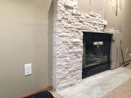 fireplace brick veneers modern stone costs adding mosaic fireplace