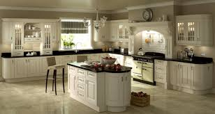 Ivory Kitchen Ideas Stove Ivory Cabinets With Black Appliances Kitchens