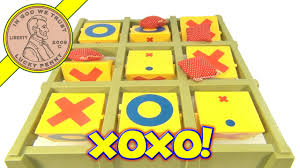 vintage tic tac toe toss across game with bean bags by ideal toys