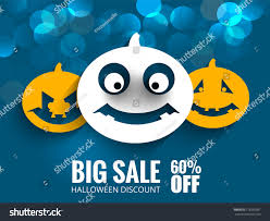 halloween background emoji vector spooky horror background halloween festival stock vector