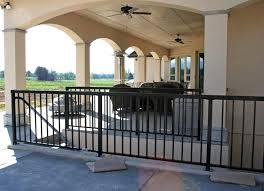 iron porch columns wrought iron railings for decks metal porch