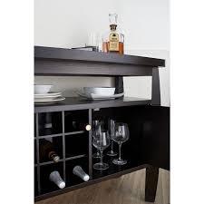 furniture of america zarina dark espresso buffet table free