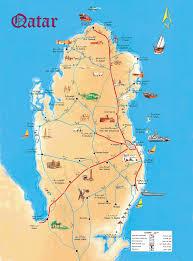 doha qatar map tourism map qatar this is qatar tourism and doha
