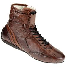racing boots omp carrera classic historic leather race racing boots fia