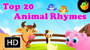 top 20 animal nursery rhymes 20 mins compilation of cartoon