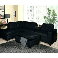 Black Microfiber Ottoman Black Sectional Sofa Ideas With Nailhead Trim Microfiber Ottoman