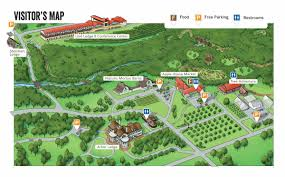 map of arbor map of arbor day farm