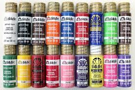 com folkart acrylic paint set 2 ounce promofai best ing colors i 18 colors
