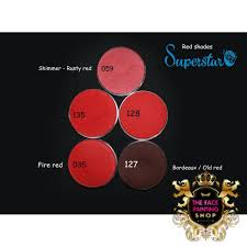 blood red paint face paint 16g 135 blood red
