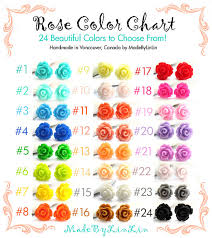 roses colors one necklace your choice of color 24 colors to
