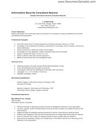 Sample Resume For Information Security Analyst by Information Security Resume Information Security Resumes Uhpy Is