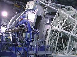 secondary mirror unit in place on first vlt 8 2 m unit telescope eso