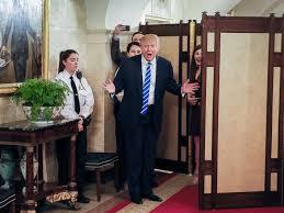 trump white house residence white house tours restart president trump surprises group abc news