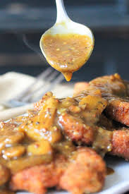 turkey mushroom gravy review by german schnitzel with mushroom gravy how to feed a loon