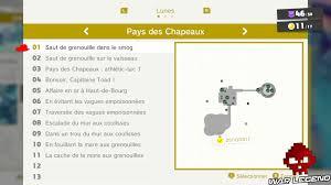 Soluce Super Mario Odyssey Les Lunes Pays Des Chapeaux