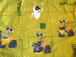 walle sheet disney pixar character sheet fabric supply sheets