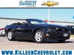 2014 blue mustang convertible used ford mustang for sale in killeen tx 226 used mustang