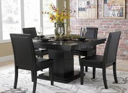 dining room impressive glass dining room table and chair sets