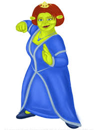 learn draw princess fiona shrek shrek step step