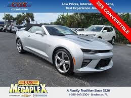 silver ss camaro silver chevrolet camaro in florida for sale used cars on