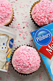 pillsbury halloween funfetti cake mix pretty in pink coconut cupcakes cravings of a lunatic