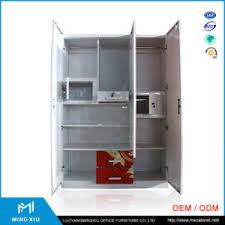 china mingxiu low price 3 door steel cupboard design steel