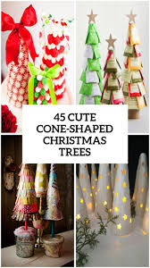 45 cute cone shaped christmas trees shelterness