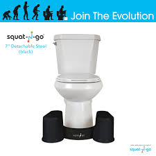 Space Saver Toilet Amazon Com Squat N Go Space Saver Toilet Stool The Only
