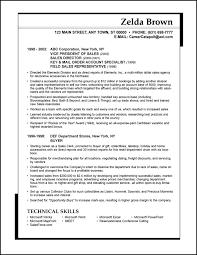 Resume Sales Examples by Sample Resume Sales Executive