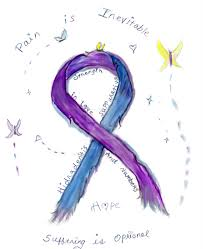 diabetes ribbon color hidradenitis suppurativa awareness ribbon by hauntedangeleyes on