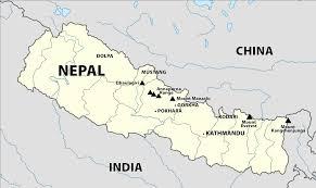 Himalayas On World Map by Himalaya Mountains Map My Blog