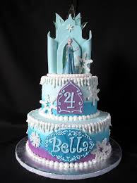 frozen ice castle cake cakecentral com