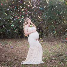 Maternity Photo Shoot Confetti Rainbow Baby Maternity Shoot Popsugar